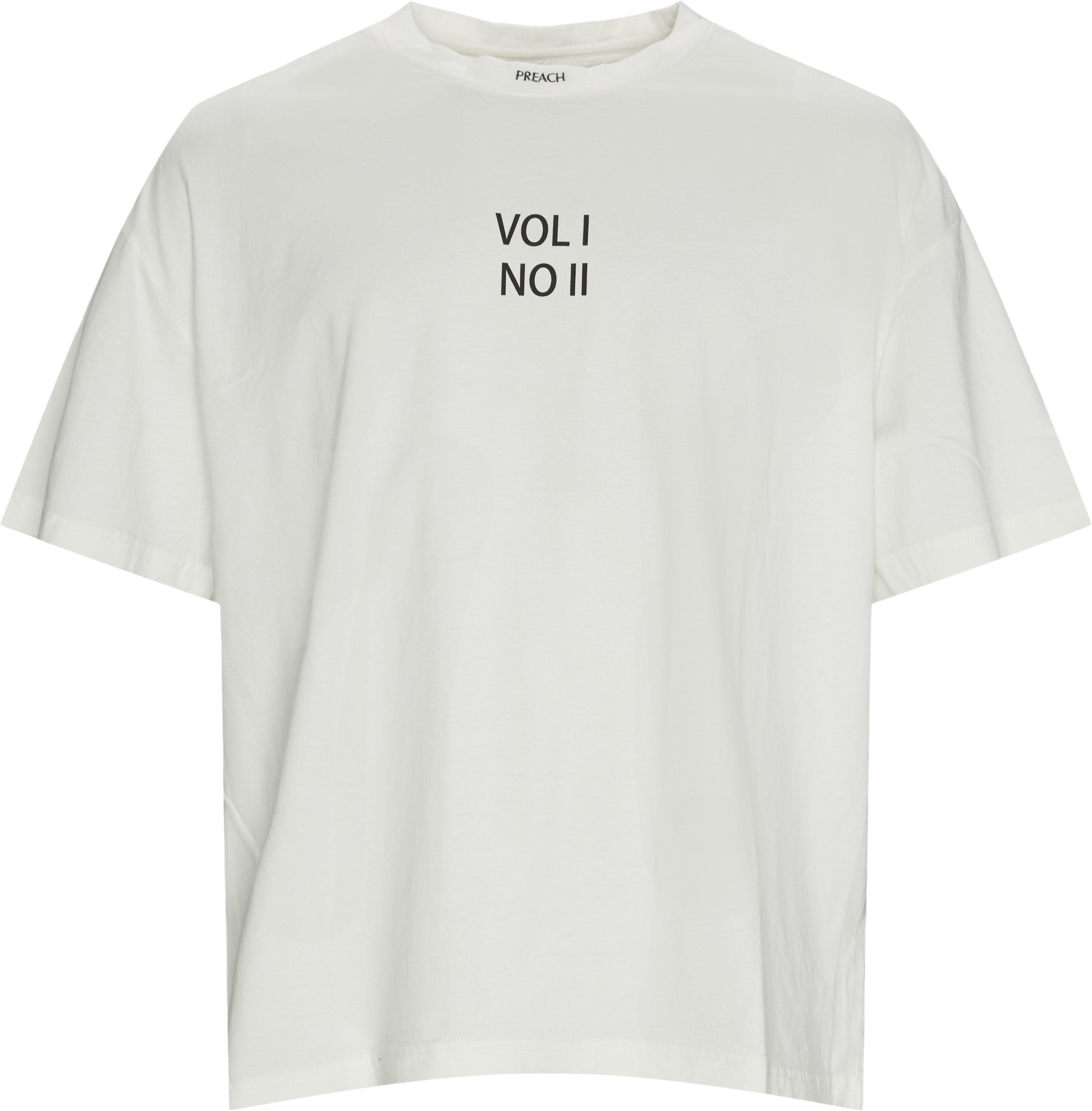 Oversized No II T-shirt - T-shirts - Oversized - Hvid